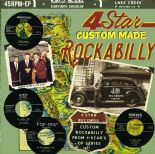 45EP✦4 STAR CUSTOM MADE ROCKABILLY✦ 4 Original & Rare 1950's Great Rockabilly ♫
